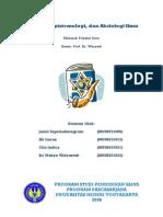 43326775 Ontologi Epistemologi Dan Aksiologi Ilmu
