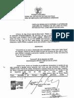 Ação Penal Roberth atraso balancetes