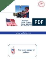 CharlaDocumentosDS160-V2011 (Para Trabajar en USA)