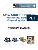 CNC Shark Family Owners Manual v1.5.0.9
