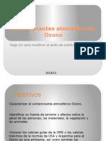 Contaminantes atmosféricos OZONO