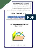Guia Practica Decisiones en Condiciones de Incertidumbre