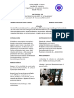 Informe Laboratorio Nro 3 de Procesos de Fabricación I