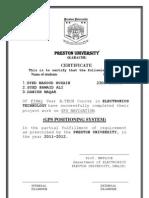 Preston Gps Project Report