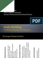 Stateness Economics Presentation