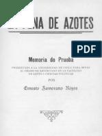 La Pena de Azotes. Ernesto Zamorano