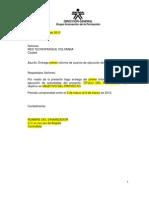 Formato de Informe de Avance de Actividades