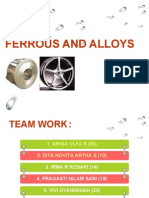 Ferrous and Alloys for Presentation