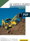 Catalogo Retroexcavadora New Holland