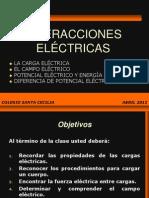 4º MEDIO. FUERZA, CAMPO, P.ELECTRICO Y ENERGÍA.2012.