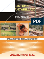 Catalogo Alcantarillado PDF