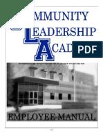 cla staff handbook 12-13
