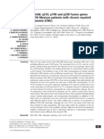 ABL p210, p190 and p230 Fusion Genes in 250 Mexican Patients With Chronic Myeloid Leukaemia (CML) -ARANA-TREJO 2022