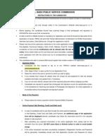 Instructions to Candiates_TNPSC