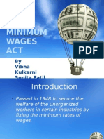 Minimum Wages Act