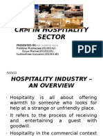 Crm in Hospitality Sector