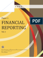 Financial Reporting Volume-I
