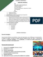 Sesión 3 Conceptos básicos de Dir. Estratégica