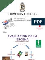 PRIMEROS AUXILIOS Dra Márquez