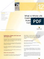 Willmott Dixon Briefing-note-12-Life Cycle Costing