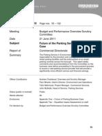 Parking Business Case - Barnet Council