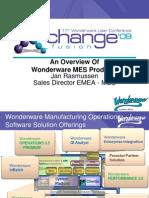 I2 - An Overview of Wonder Ware MES Products - Jan Rasmussen Version 0.92 NXPowerLite