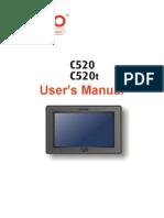 Mio C520T Manual