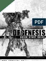 Degenesis Quick-Start Rules