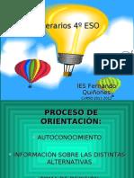 itinerarios 4º ESO 2011-2012