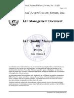 QualityManual_contentsIAF