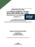 EL SEVILLA FC 1890 ES UN INVENTO