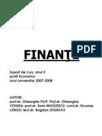 Finante economic 2007_2008