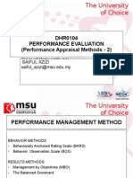 Chapter 4 - Performance Management Methods-2