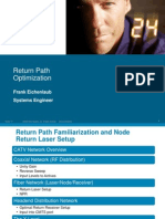 Cisco Return Path Optimization