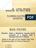 Uapccd Review Notes Bldg. Utilities (Part 1)