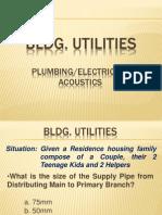 Uapccd Review Notes Bldg. Utilities (Part 1)