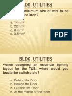 Uapccd Review Notes Bldg. Utilities (Part 2)