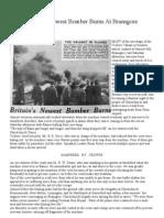 Bomber Crash Bransgore 1952