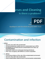 Nurses and Cleaning