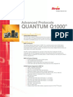 QUANTUM Q1000 Advanced Protocols