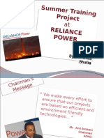 Reliance Power - Final PPT