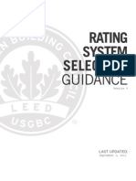 Leed Rating Selection