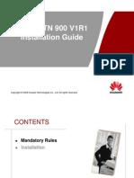OptiX RTN 900 V1R1 Installation Guide-VDF