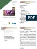 Saffron Manual for Afghanistan
