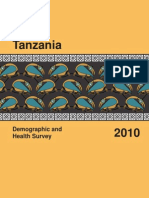 Tanzania Demo Health Survey