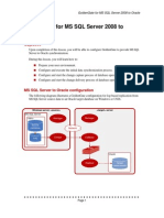 Golden Gate for MS SQL Server 2008 to Oracle