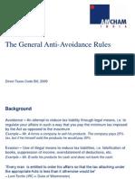AMCHAM Session on DTC - Anti Avoidance GAAR Deloitte