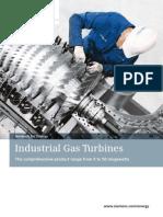 Industrial Gas Turbines en New