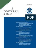 Jurnal Demokrasi Dan Ham Vol9 No1 2011