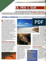 Articolo pubblicato sulla rivista IL SUBACQUEO